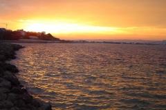 Sonnenuntergang  in Nessebar