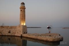 Der Leuchtturm von Chania