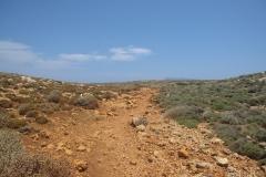 Weg zur Lagune von Balos