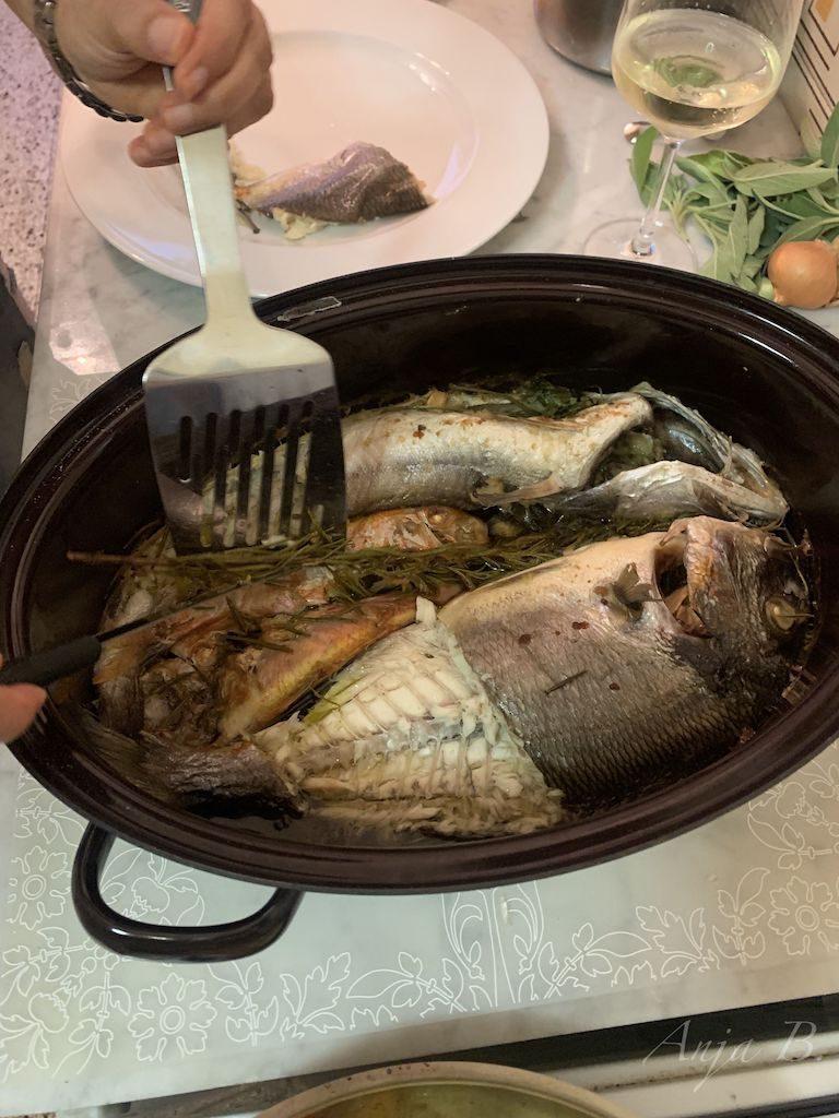 Frischer Fisch ;-)